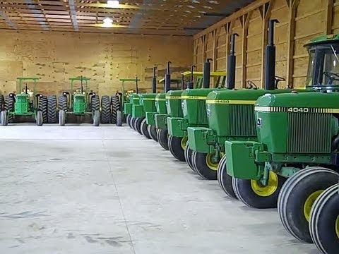 low hour tractor collection